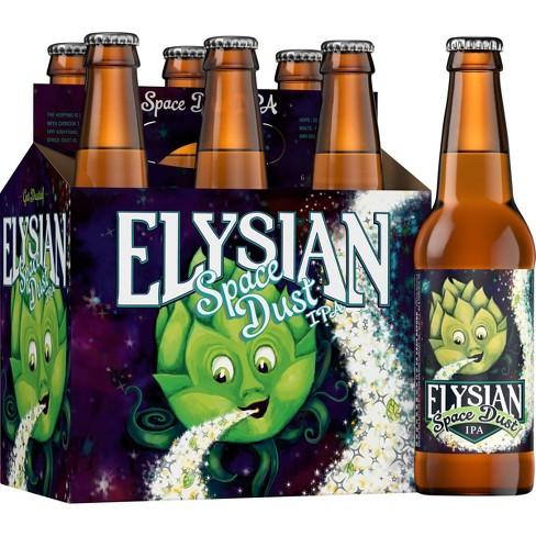 Elysian Space Dust IPA Beer - 6pk/12 Fl Oz Bottles : Target
