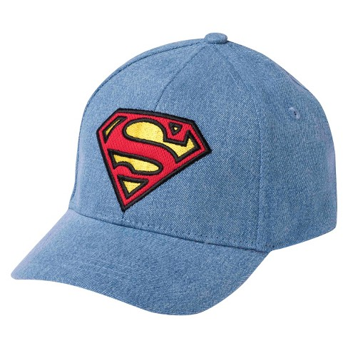 Toddler Boys  Superman® Baseball Hat - Blue   Target be39a8fef73