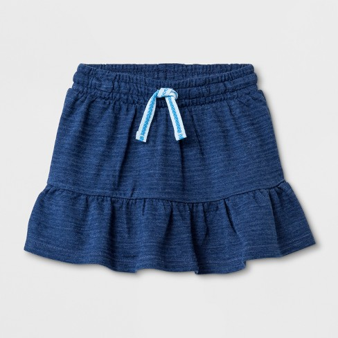 78ec7074f99b0 Toddler Girls' A-Line Skirt - Cat & Jack™ Blue : Target