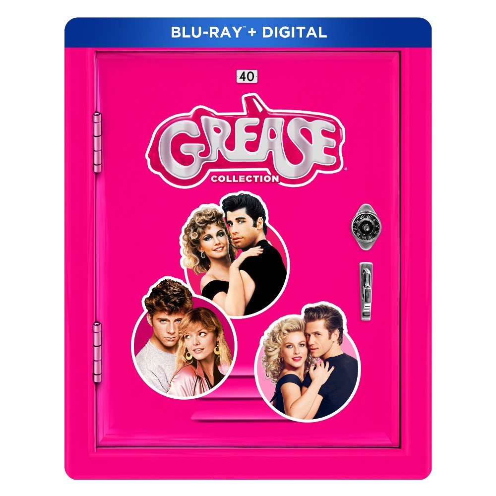 The Grease Collection: 40th Anniversary Franchise Edition (Blu-ray+ Digital)