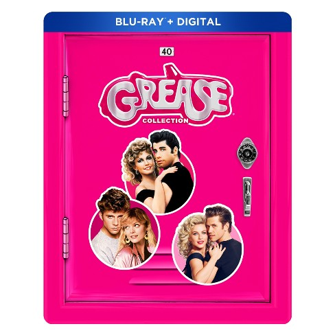 The Grease Collection: 40th Anniversary Franchise Edition (Blu-ray+ Digital) - image 1 of 1