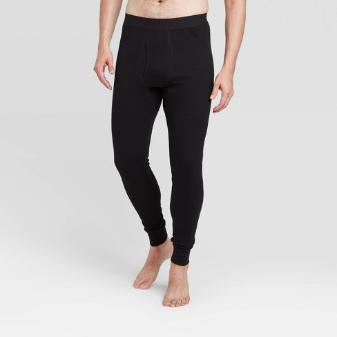 Men's Thermal Pants - Goodfellow & Co™ - Black - image 1 of 3