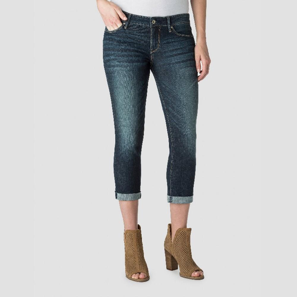 Denizen from Levi's Women's Mid-Rise Modern Skinny Crop Jeans - Dark Wash 4