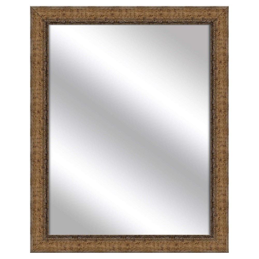 Decorative Wall Mirror Ptm Images Deep Gold