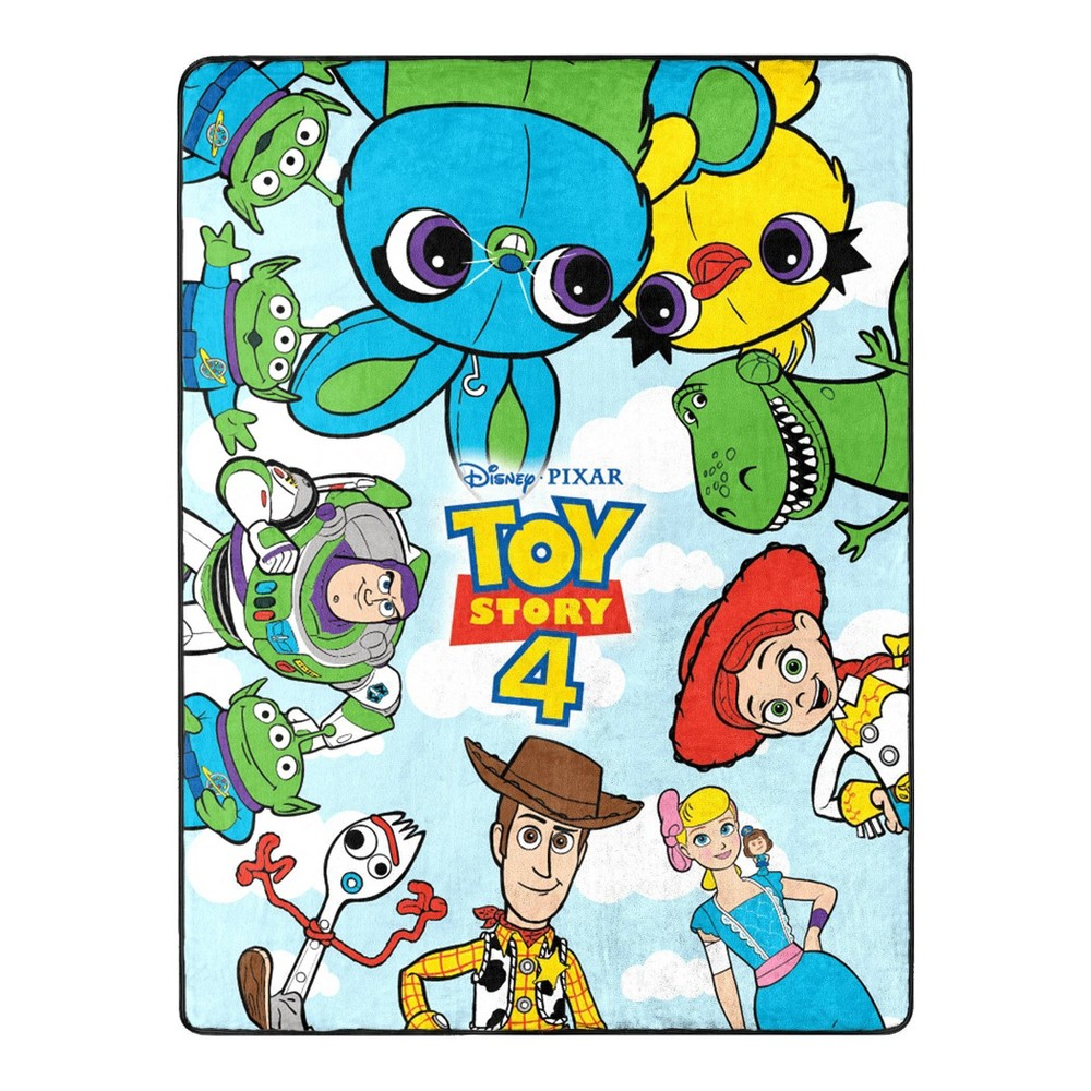 Image of Toy Story 4 Throw, throw blankets