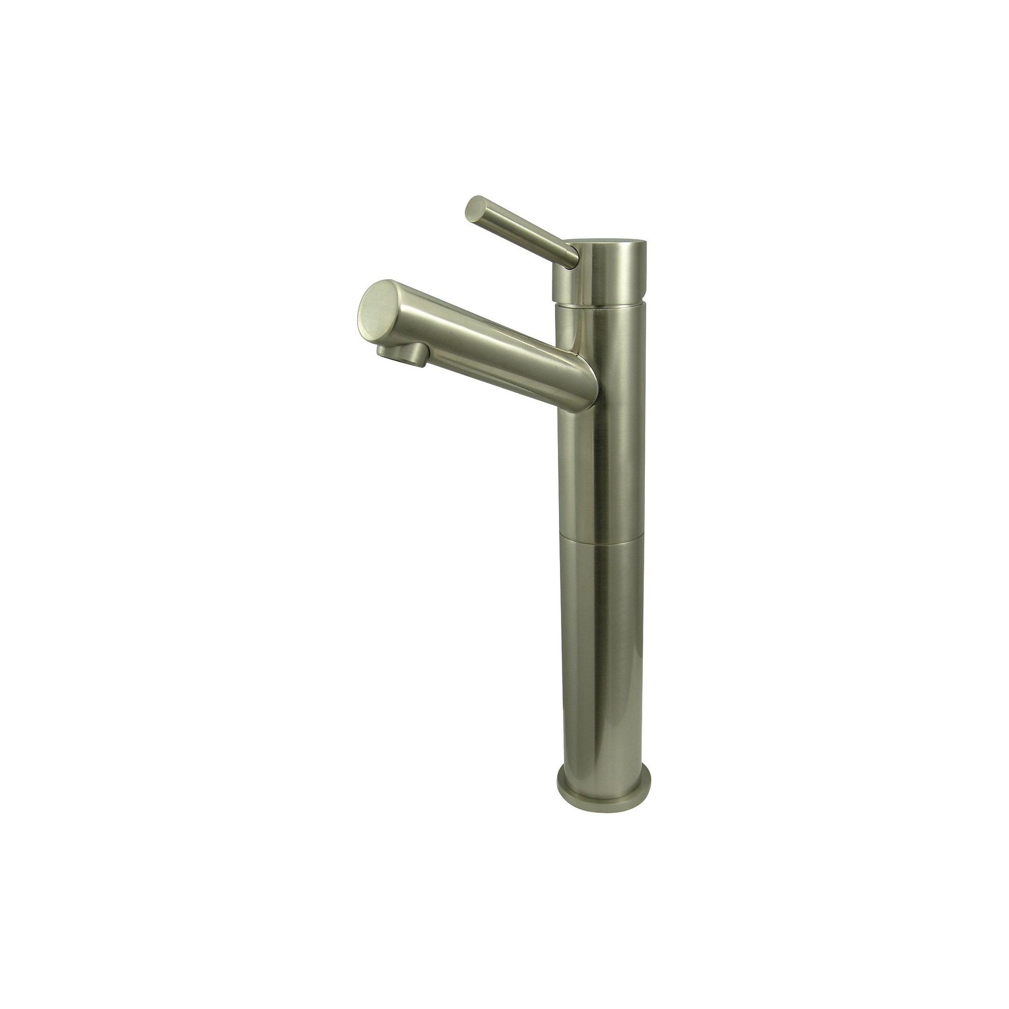 Vessel Bathroom Faucet atin Nickel - Kingston Brass, Satin Nickle