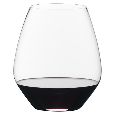 Riedel Vivant Pinot Noir Stemless Wine Glasses Set of 2