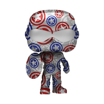 Funko POP! Artist Series: Marvel Patriotic Age - Captain America (Falcon and the Winter Soldier) (Target Exclusive)