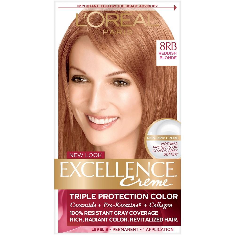 Loreal Light Reddish Blonde Hair Care Compare Prices At Nextag