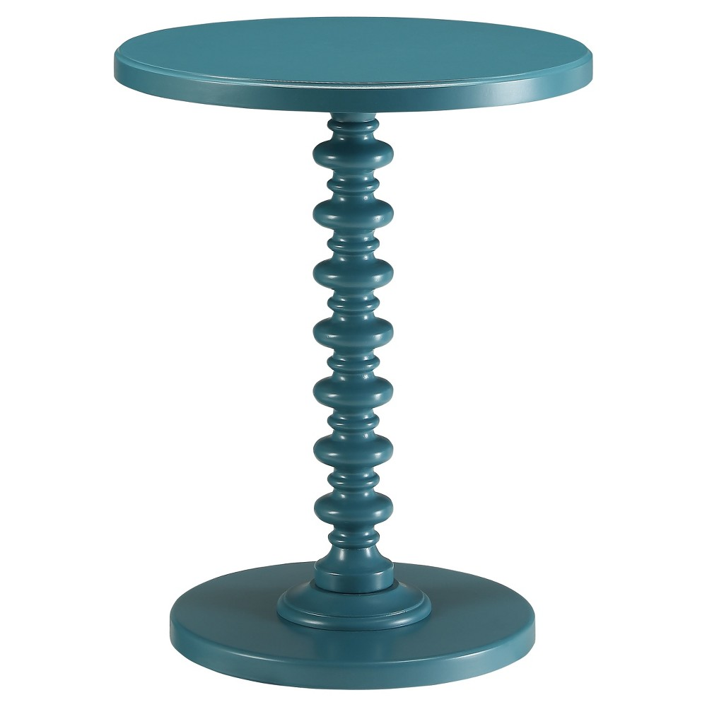 End Table  - Acme Furniture End Table Teal - Acme Furniture Gender: unisex.