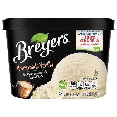 Homemade Vanilla Ice Cream - 48oz - Breyers