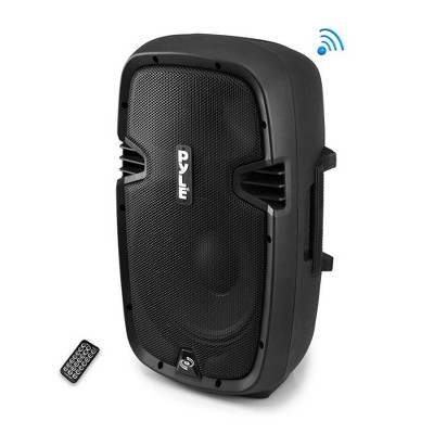 New PylePro PPHP1237UB 900W 12-Inch Bluetooth Powered DJ PA Black Speaker System