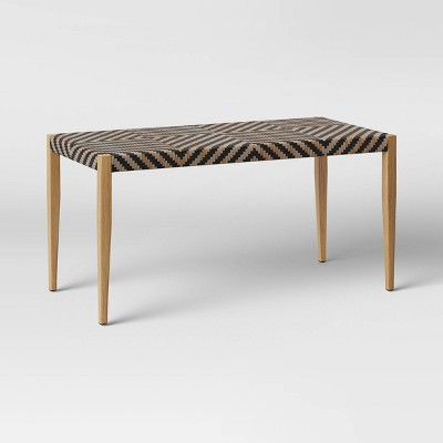 Pattern Weave Patio Bench - Opalhouse™