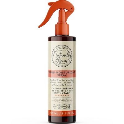 Naturally Africa Tea Tree Oil & Vegetable Protein Braid Moisturizing Spray - 8.4 fl oz