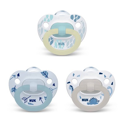 NUK Pacifier Assorted Size 0-6 months Value Pack - Boy - 3pk