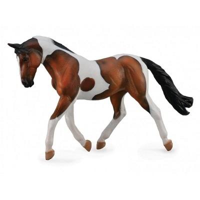 Breyer Animal Creations Breyer CollectA Series Bay Pinto Mare Model Horse
