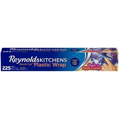 Reynolds Kitchens Quick Cut Plastic Wrap - 225 sq ft