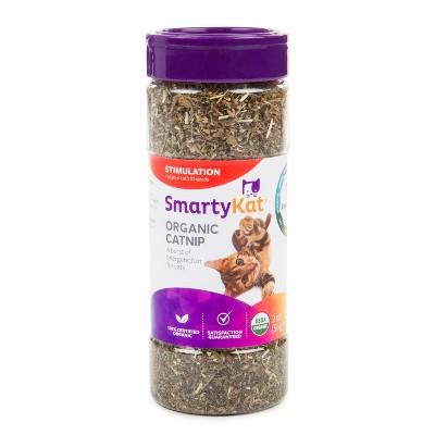 SmartyKat Organic Catnip Cat Toy - 2oz