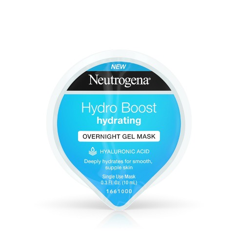 Neutrogena Hydro Boost Moisturizing Overnight Face Mask - 0.3 fl oz - image 1 of 8