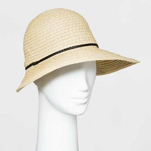 f9ce4aabfe1056 Women's Beach Hat - A New Day™ Natural : Target