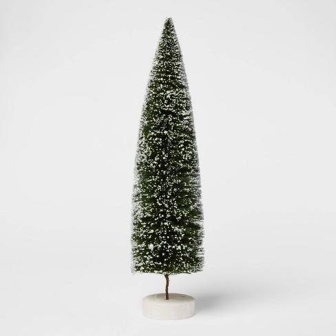 Bottle Brush Tree Figurine - Threshold™ - image 1 of 2