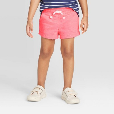 Toddler Girls' Knit Pull-On Shorts - Cat & Jack™ Pink 4T