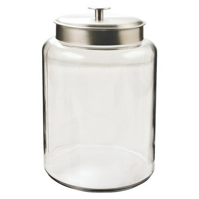 Montana Canister with Silver Lid - 2.5 gal.