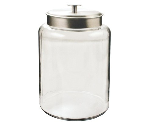 Montana Canister with Silver Lid  25 gal - image 1 of 1