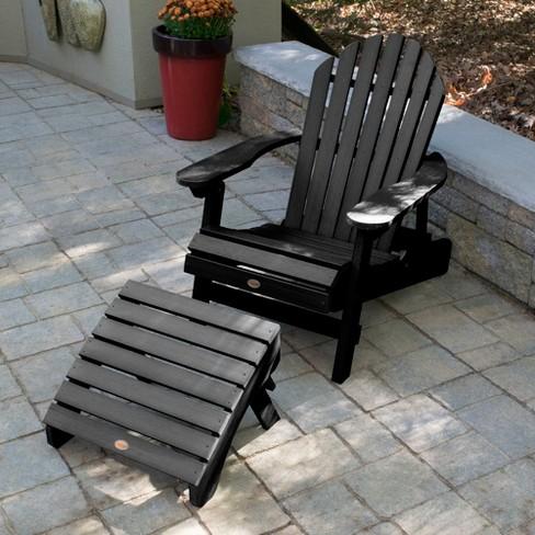 Hamilton Folding Reclining Adirondack Chair With Ottoman Highwood Target
