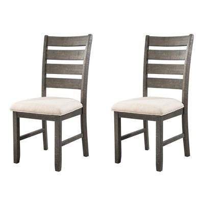 Sullivan Side Chair Set Cream - Picket House Furnishings