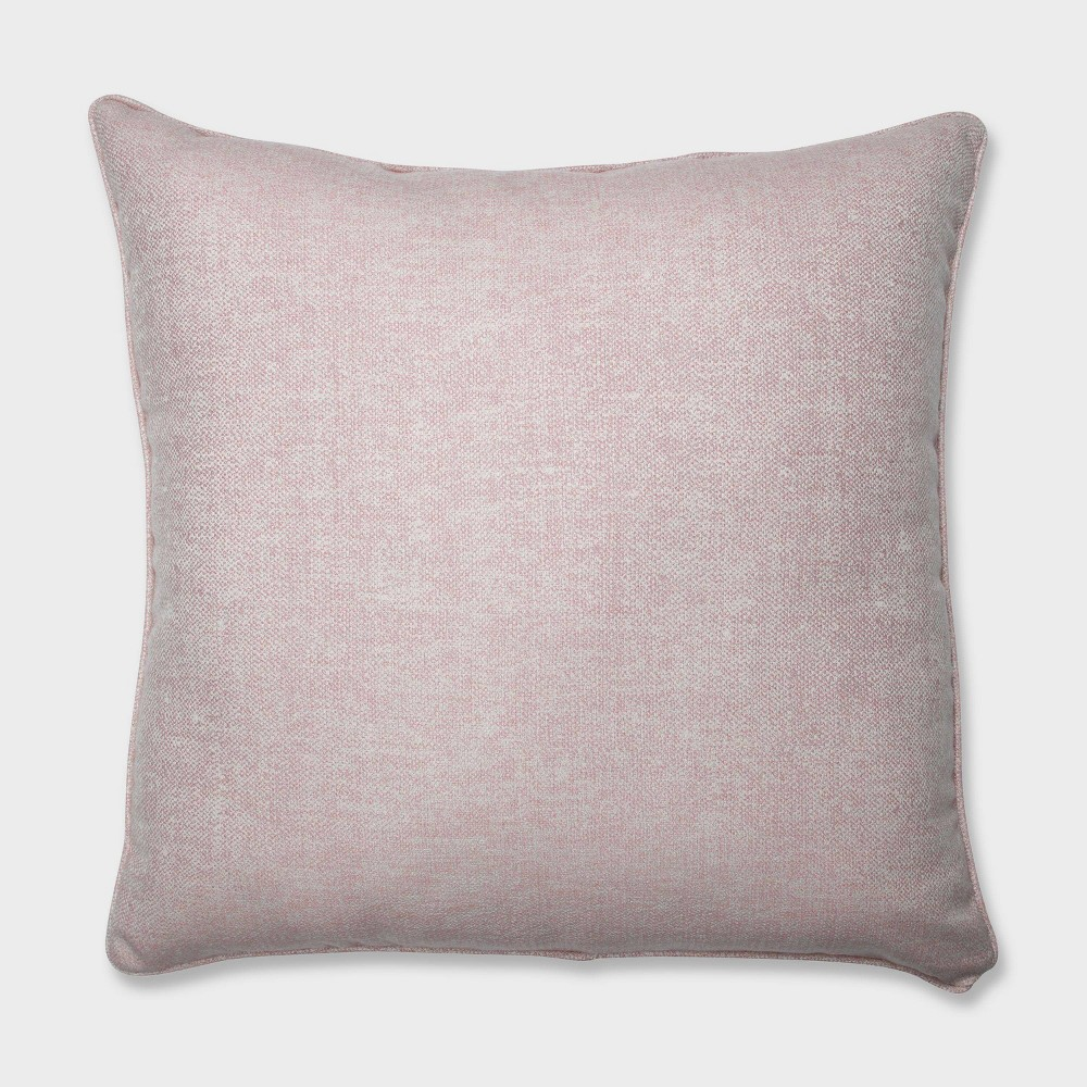 25 Chartres Rose Floor Pillow Pink - Pillow Perfect