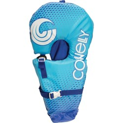 CWB Connelly Infant Baby Safe and Soft Nylon Water Pool Life Vest Jacket, Blue