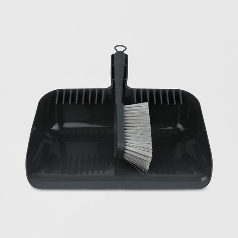 Hand Broom and Dust Pan Set - Made By Design™ - image 1 of 4