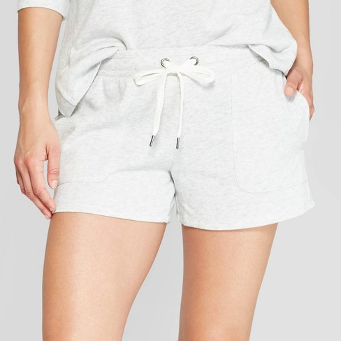 hot-selling newest uk availability new items Women's Fleece Lounge Shorts - Stars Above™ Gray
