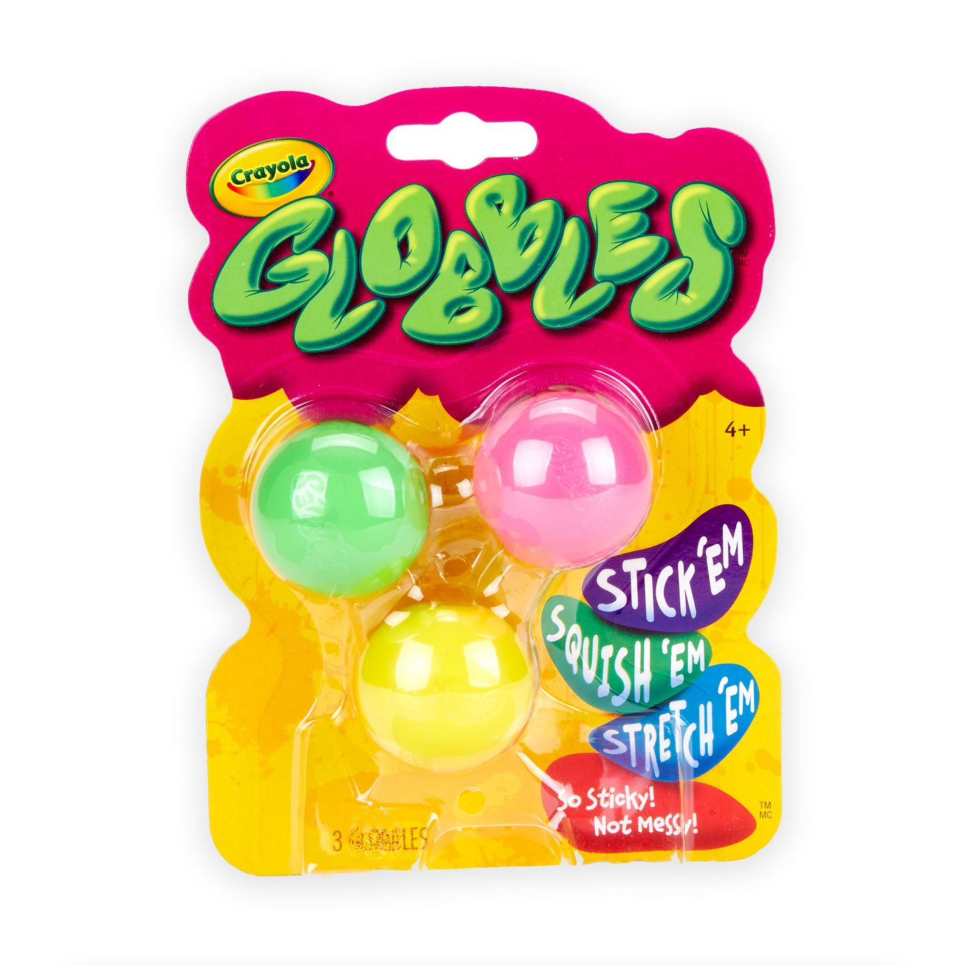 Crayola 3ct Globbles, Fidget Toy for Kids - image 2 of 5