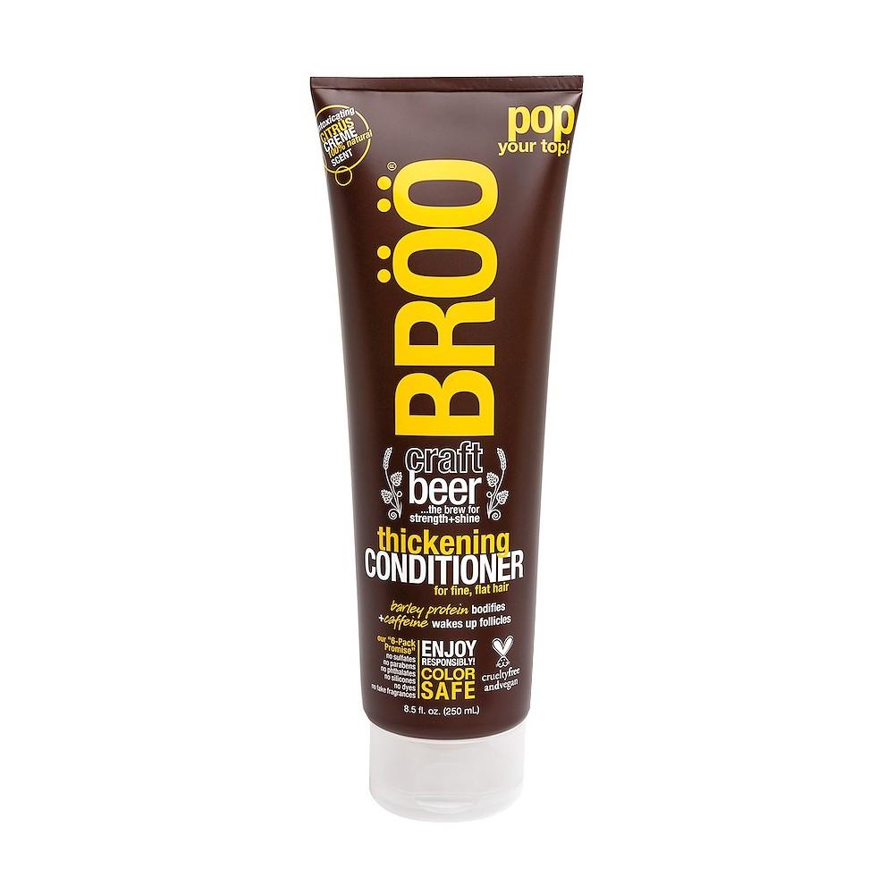Broo Craft Beer Strength + Shine Thickening Conditioner - 8.5 fl oz