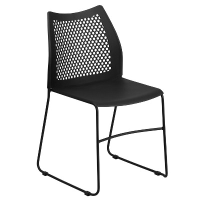 Plastic Sled Stack Chair - Riverstone Furniture Collection