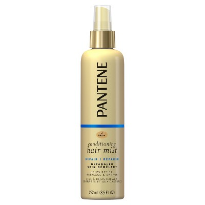 Pantene Pro-V Nutrient Boost Damage Resisting Detangler Repair & Protect Conditioning Mist - 8.5 fl oz