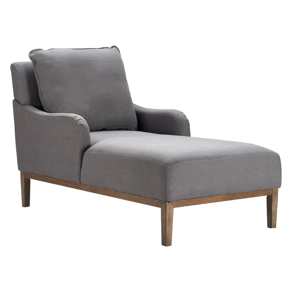 Elmhurst Chaise Lounge Antique Gray - Finch Compare