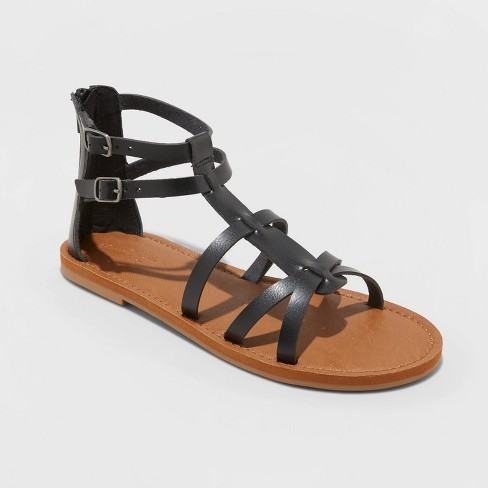 Women's Alva Faux Leather Gladiator Sandals - Universal Thread™ - image 1 of 4
