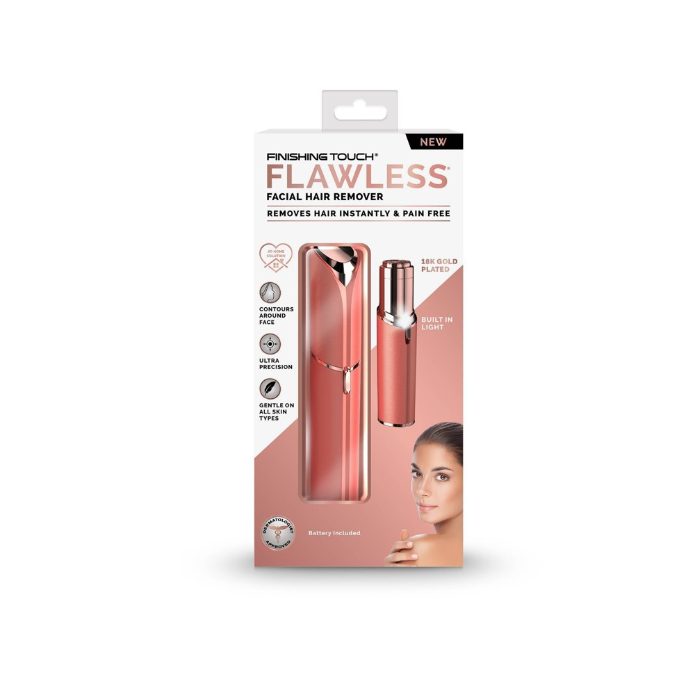 Finishing Touch Flawless Face Women 39 S Razor Coral
