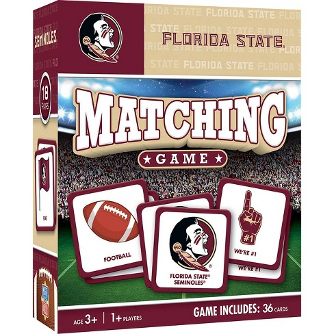 NCAA Florida State Seminoles Matching Game - image 1 of 2