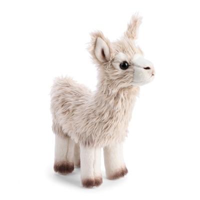 DEMDACO Llama Small 11 inch - Grey