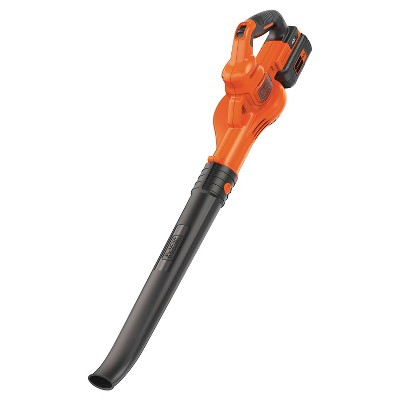 BLACK+DECKER 40V Lithium Sweeper - Orange