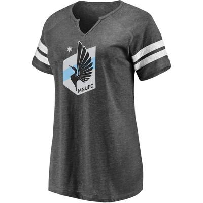 MLS Minnesota United FC Women's Short Sleeve Split Neck T-Shirt