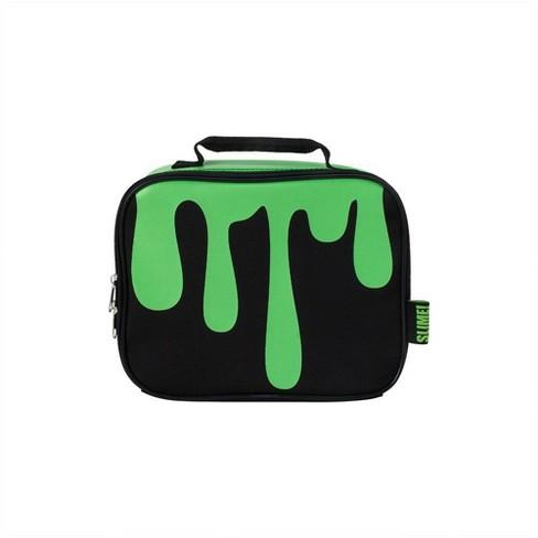 Nickelodeon Slime Lunch Bag - Black/Green - image 1 of 3