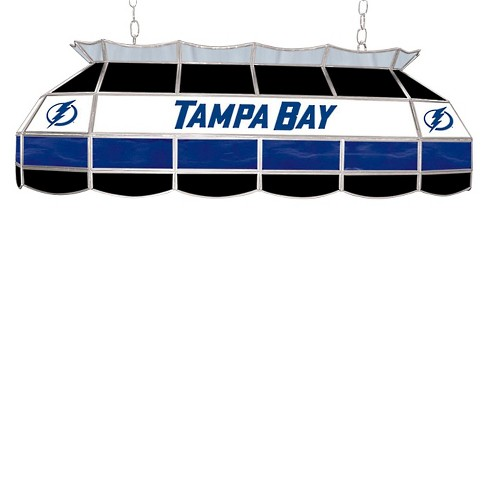 Tampa Bay Lightening Stained Glass Lighting Fixture - 40 inch - image 1 of 1