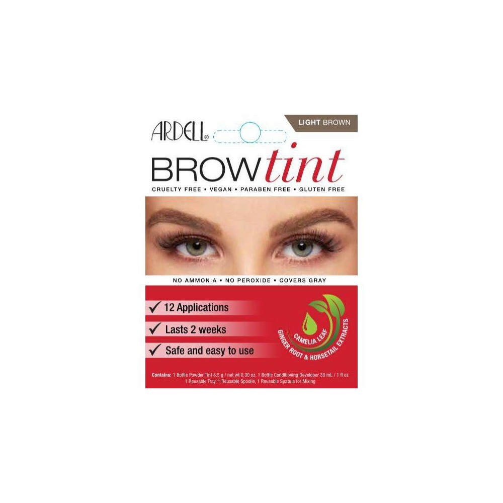 Image of Ardell Brow Tint Light Brown - 12ct