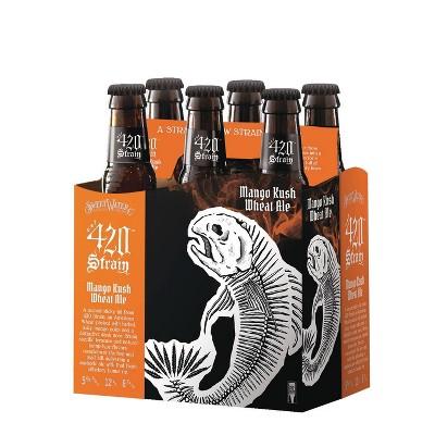 SweetWater Mango Kush Wheat Ale Beer - 6pk/12 fl oz Bottles
