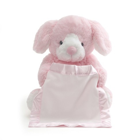 Gund Peek A Boo Puppy Pink Target